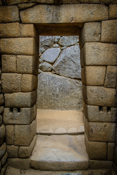 Inca Earthquake Safe Doorway