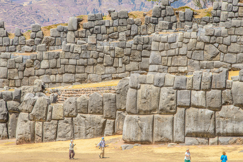 Three Tiers of Massive Carved Stones