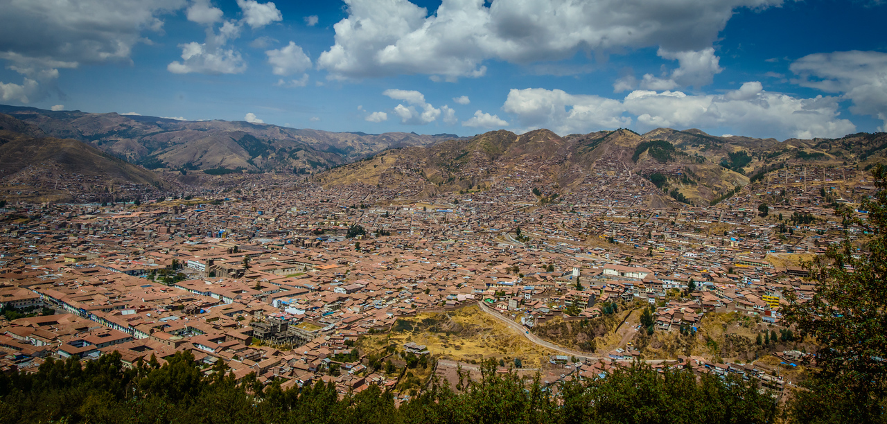 Red Tiled Roofs of Cusco