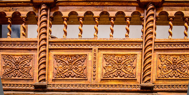 Balcony Carvings