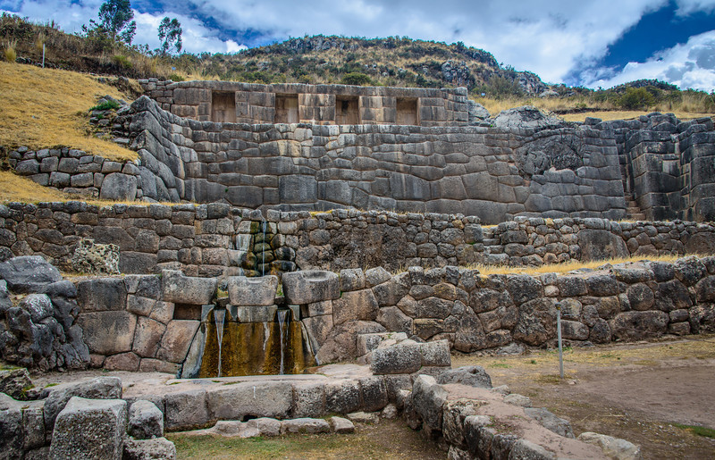 Ceremonial Baths for Inca Royalty Priests and Women