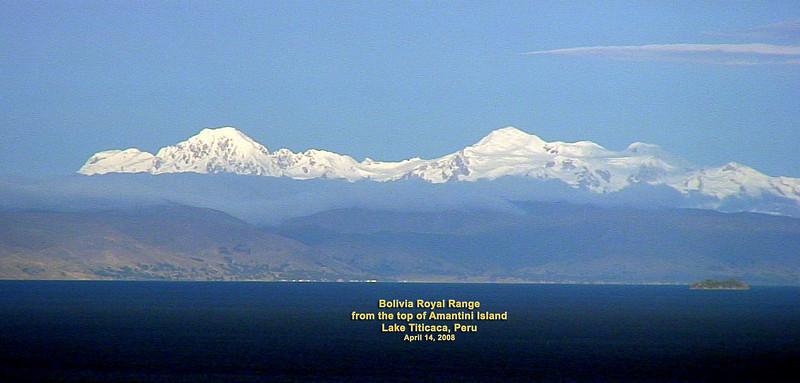 Lake Titicaca highest fresh water lake in the world