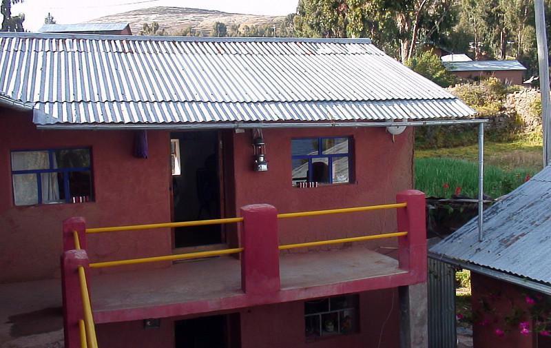 Homestay on Isla Amantani on Lake Titicaca