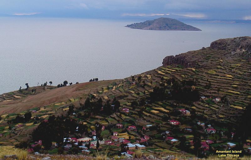 Photo taken from Isla Amantani