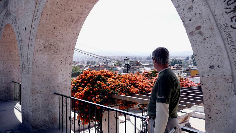 View into Arequipa, southern Peru