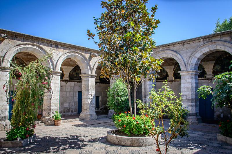Novice Cloister - Monasterio de Santa Catalina