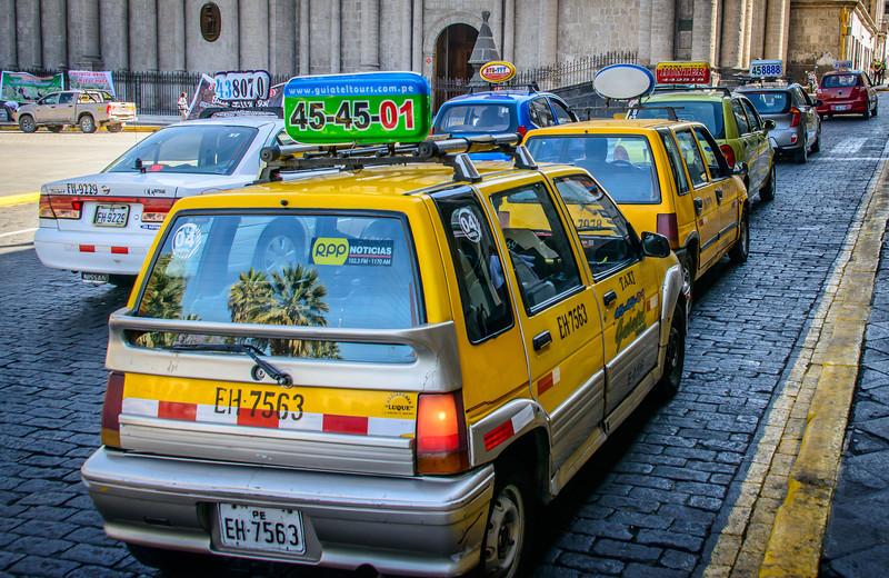 Taxi, Taxi. Taxi - beep - beep, beep!