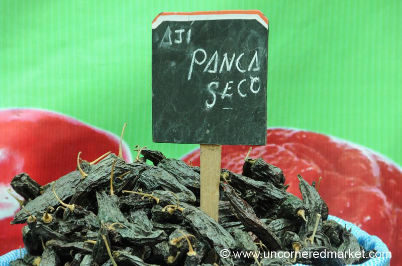 Aji Panca Seco - Mistura Gastronomy Festival in Lima, Peru