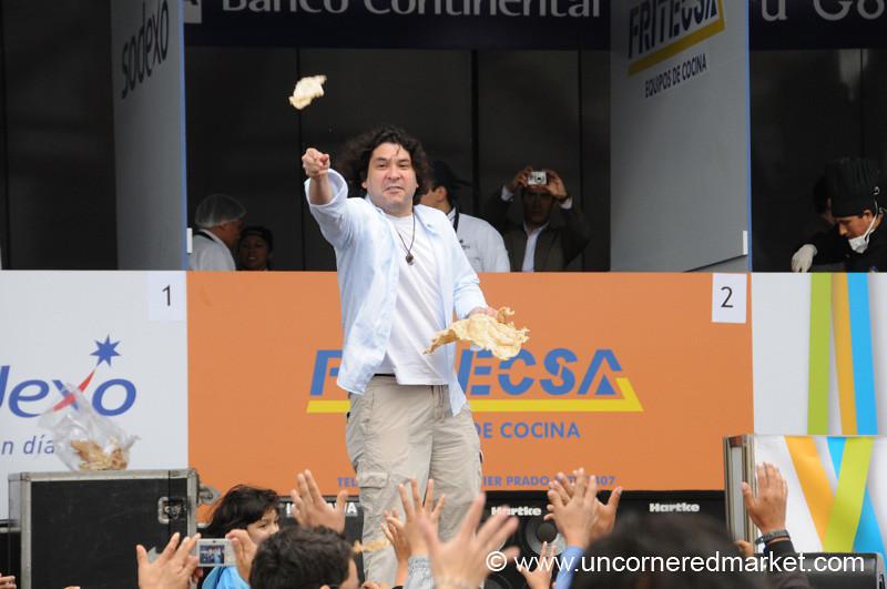 Chicharron as a Prize? Mistura Gastronomy Festival in Lima, Peru