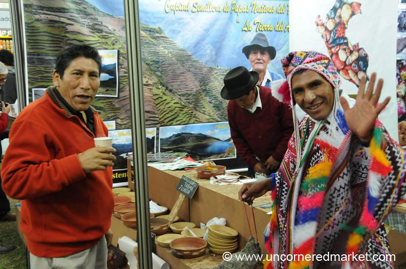 Potato Spokesman - Mistura Gastronomy Festival in Lima, Peru