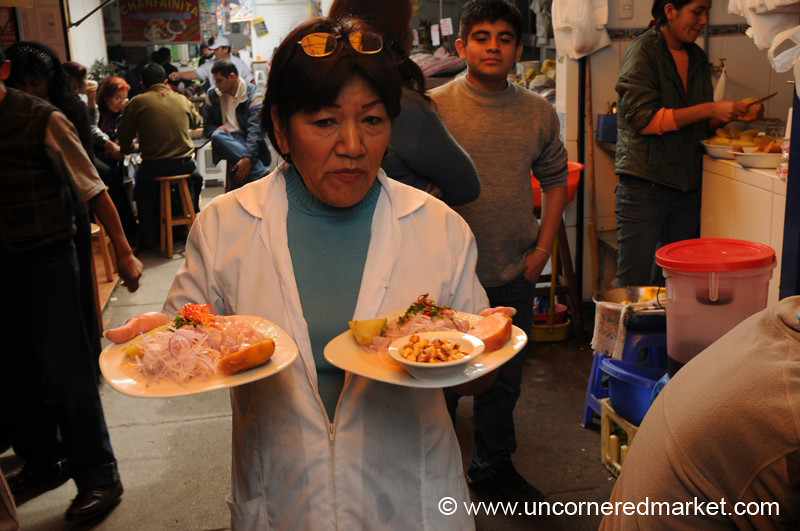Two Orders of Ceviche - Lima, Peru