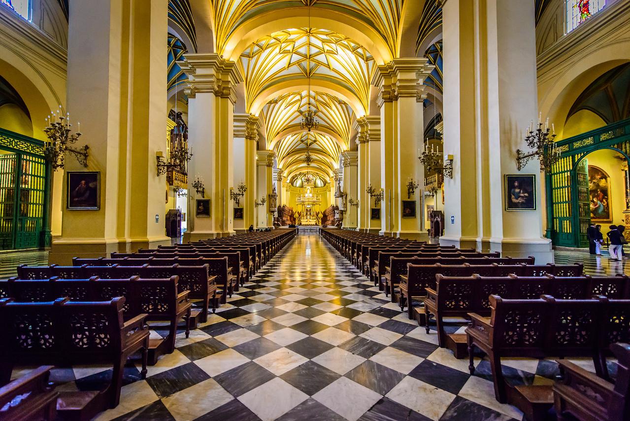 Lima Catedral, circa 1625