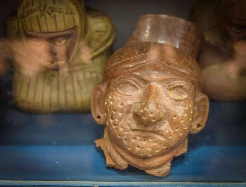 Story of Smallpox told in pottery