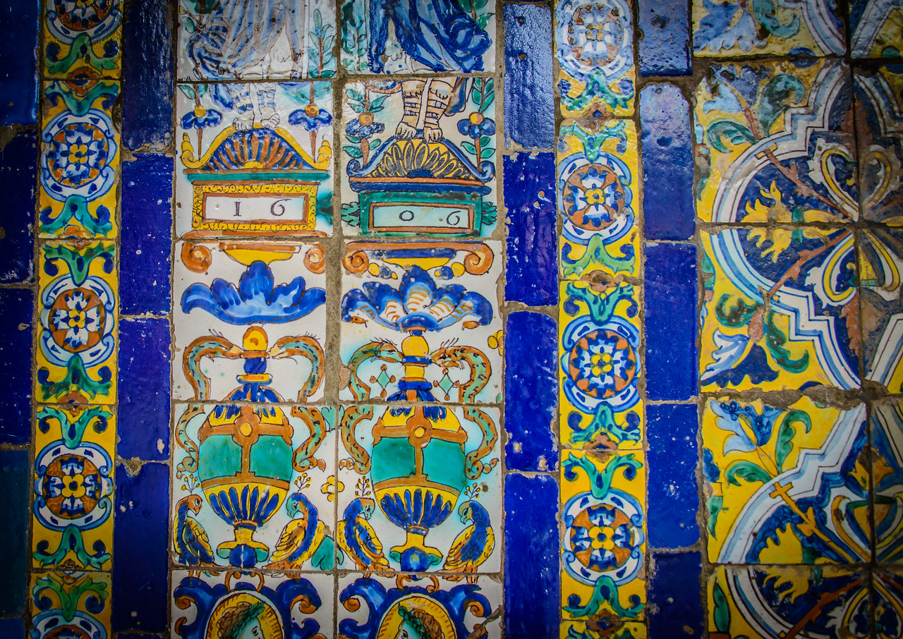 Tiles from 1606