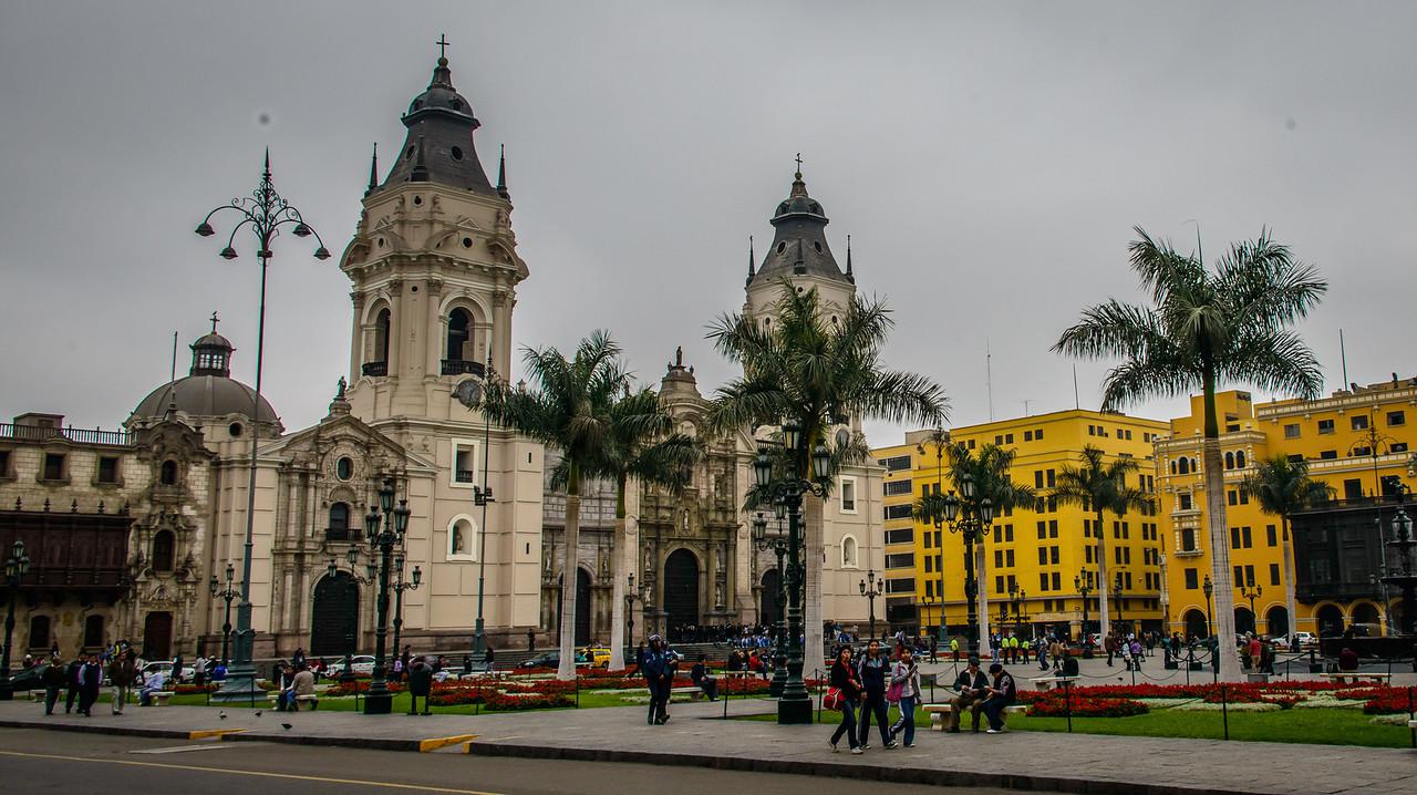 Baroque Cathedral on Plaza de Armas
