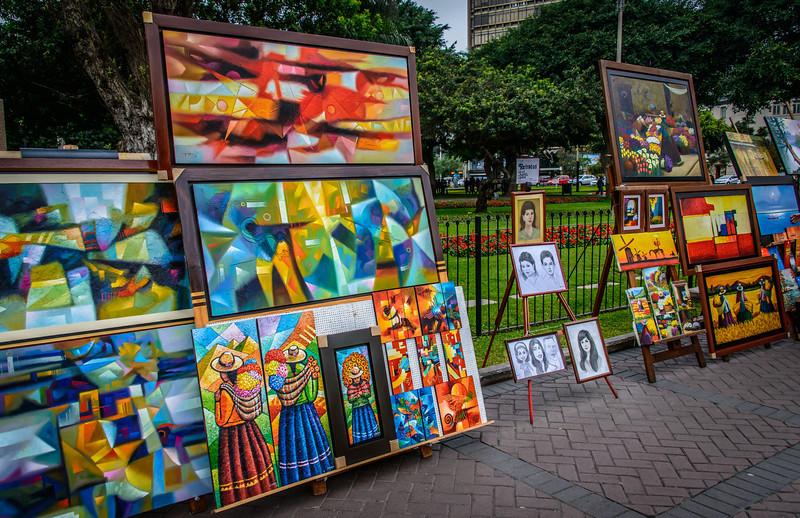 Art in Park Miraflores, Peru
