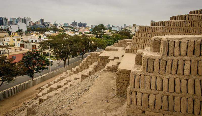 Huaca Pucllana Lima Culture - Miraflores, Peru