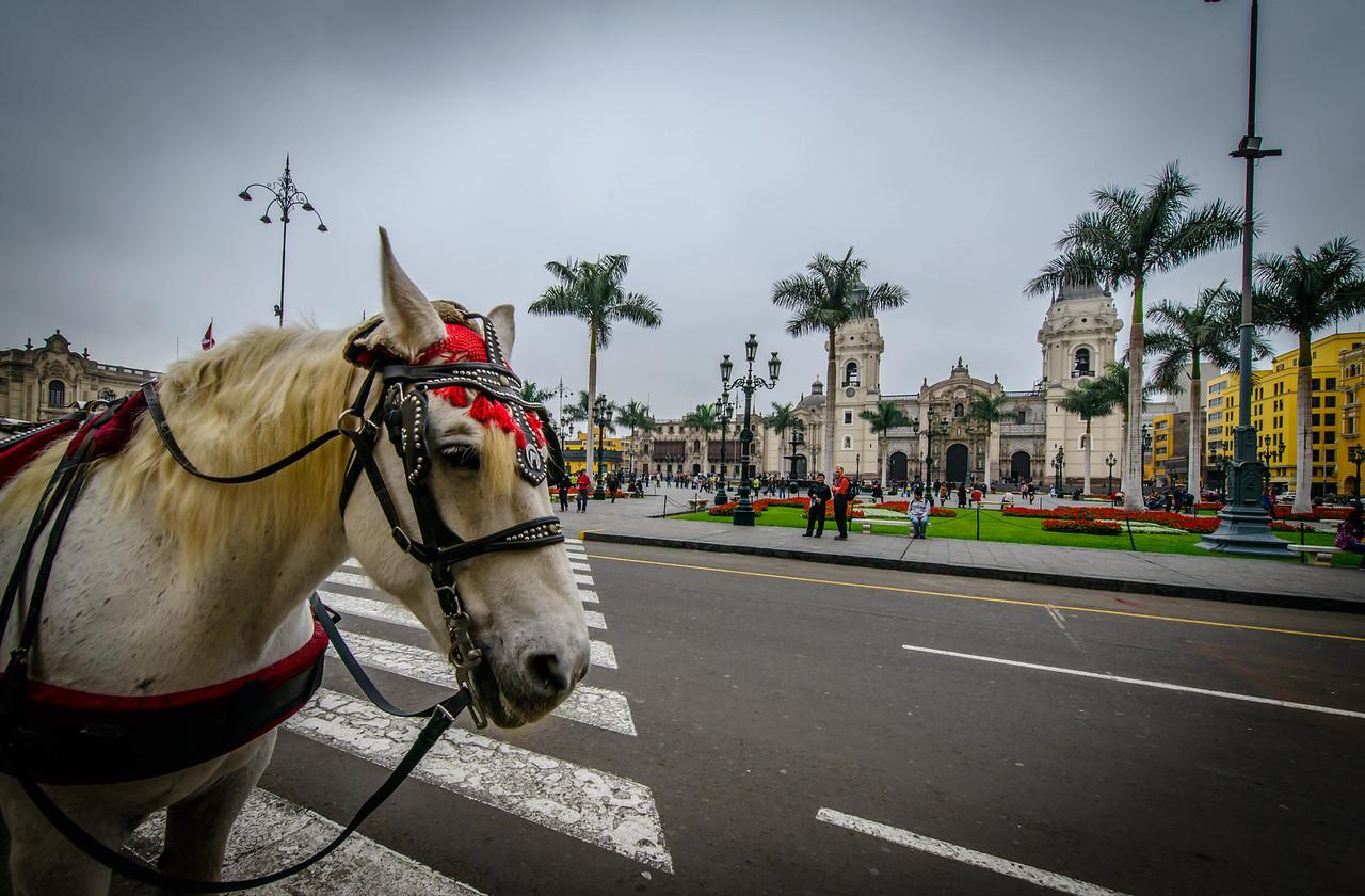 Plaza de Armas, Lima Peru