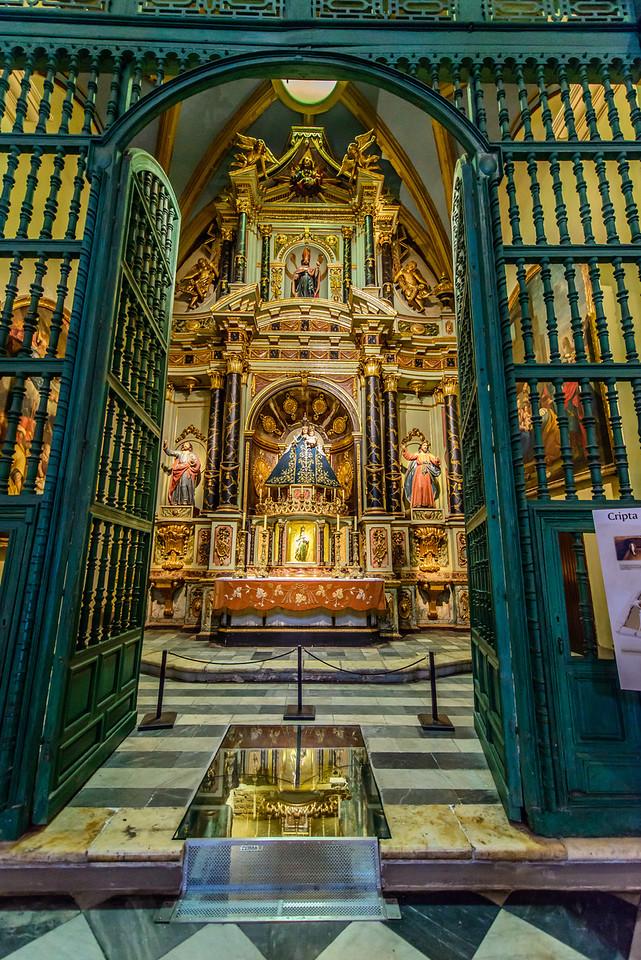 Lima Catedral, Chapel, circa 1625