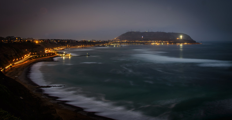 Evening Twlight - Miraflores. Peru