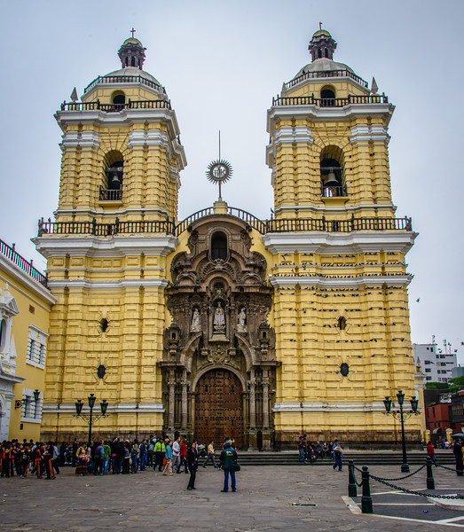 Iglesia de San Francisco - ( Church of St Francis ) circa 1674 - Large catacombs and crypts