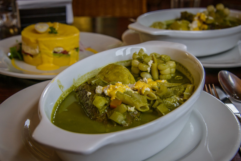 Lunch, Soup at Tanta Cafe, Lima