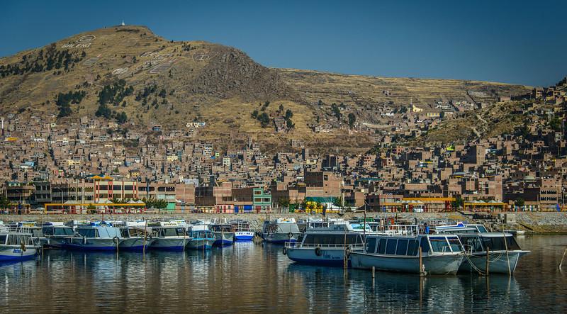 Leaving Puno