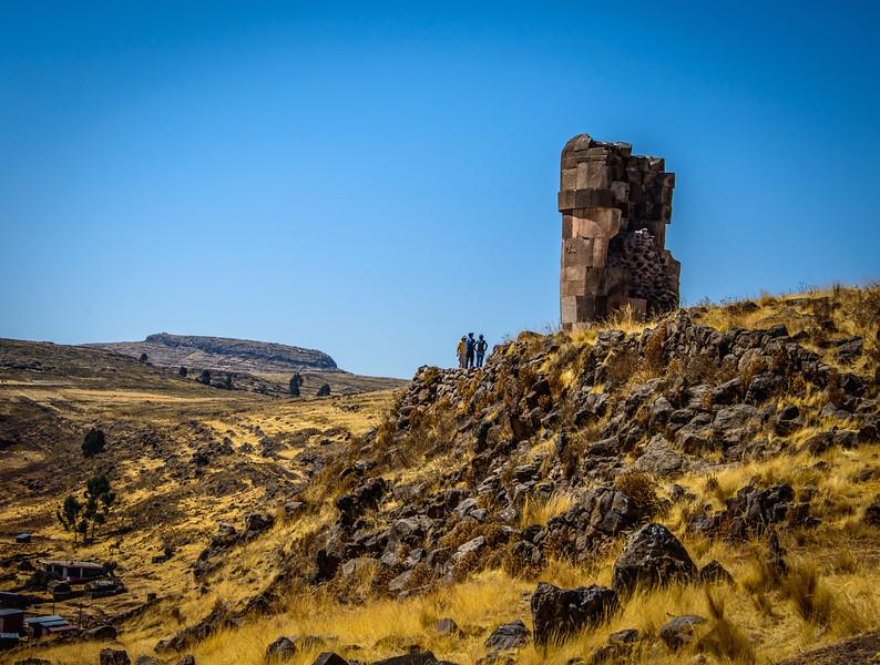 Tombs of the Aymara speaking Colla people