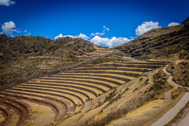 Inca Terraces at Pisac, Peru