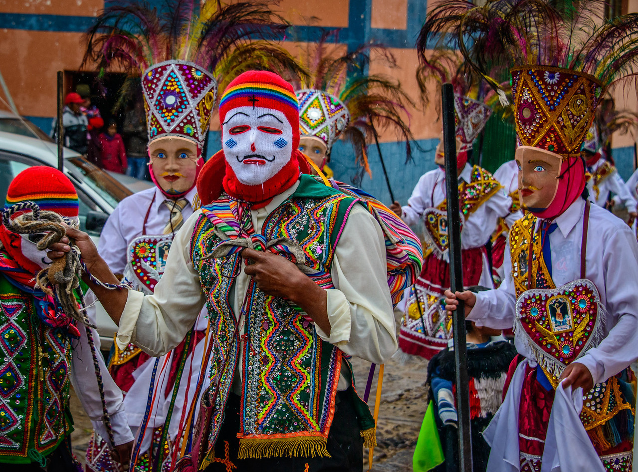 Parade in Chinchero