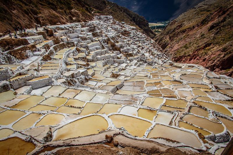 Salt Pans of Salineras de Maras, Peru
