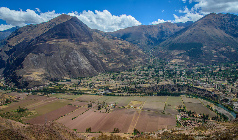 Back Road Overview of Urubamba