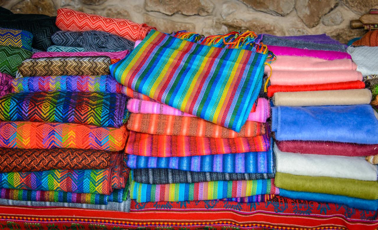 Chinchero, Major Inca city , Folklore Birthplace of the Rainbow