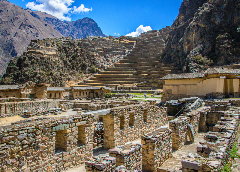 Inca Ruins, Ollantaytambo Fortress