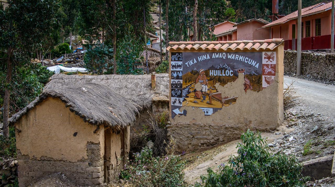 Huilloc Village EL. 11,600 ft