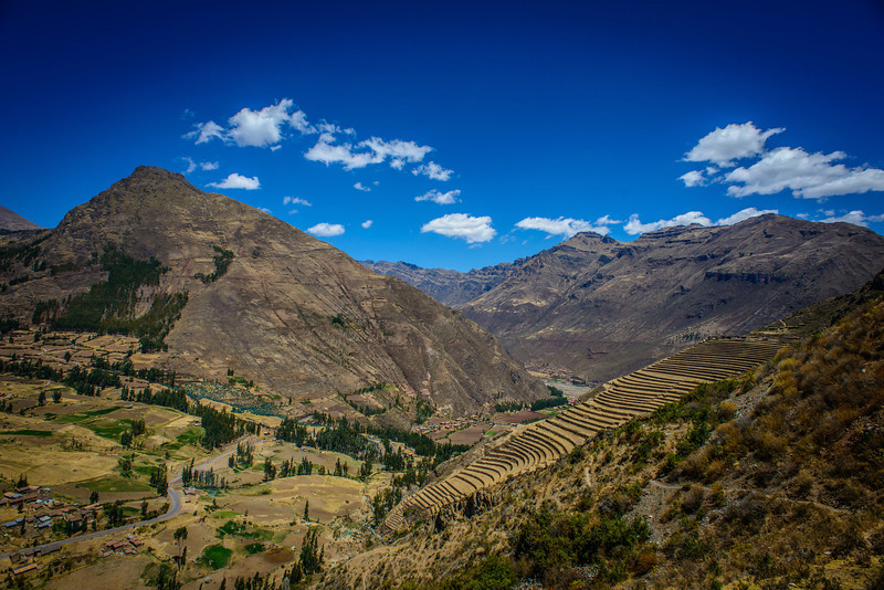 Inca Terraces at Pisac Peru