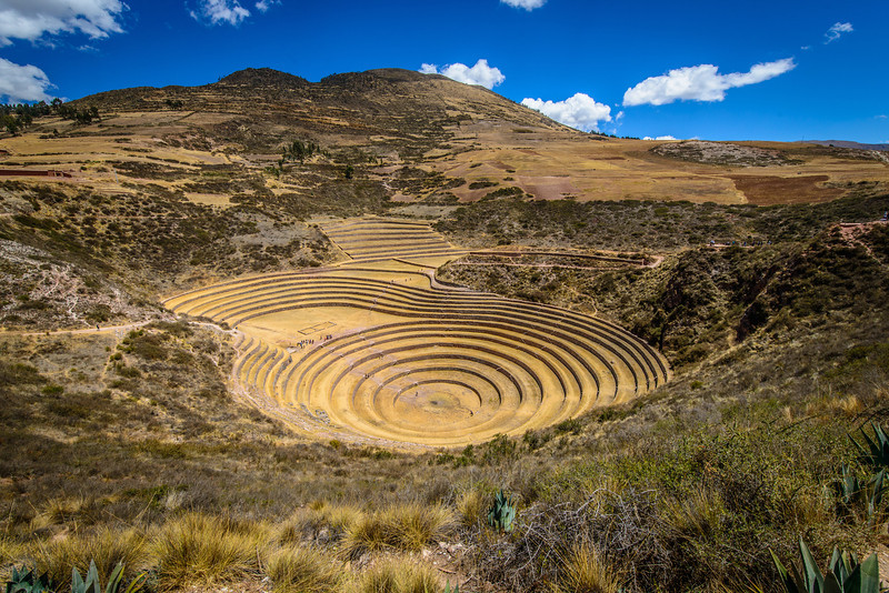Concentric Ring Terraces of the Inca