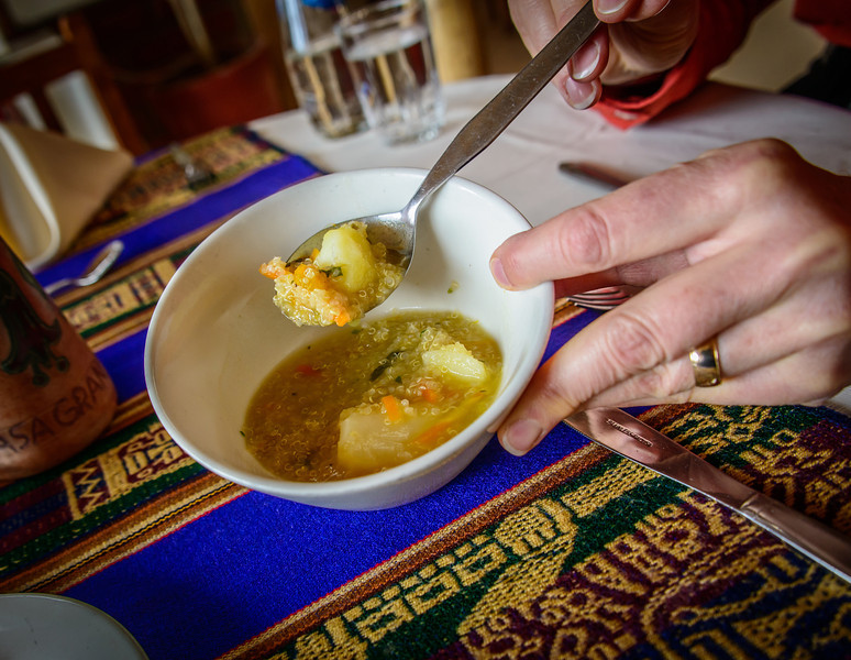 Quinua Soup- Delicious