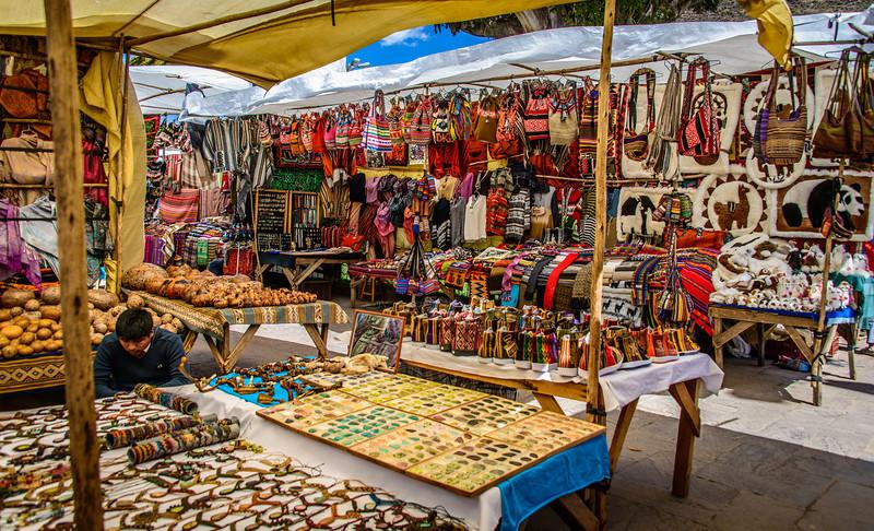 Pisac Village Market