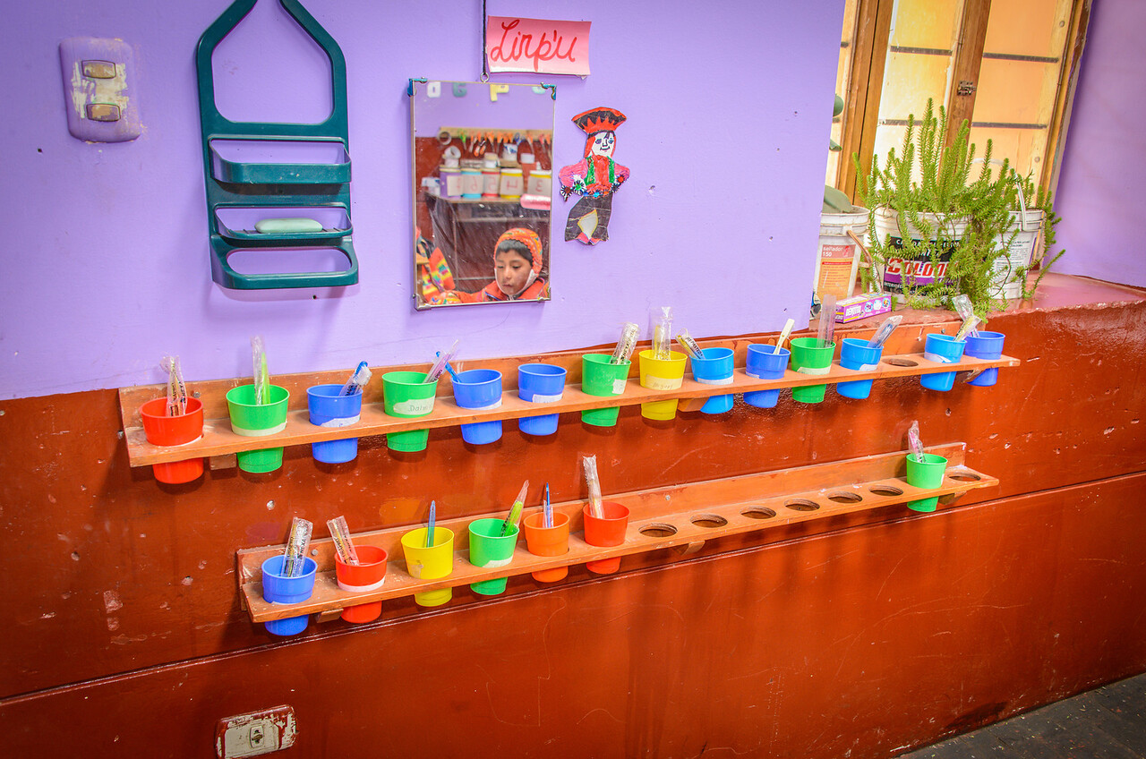 Classroom Soap and Tooth Brushes