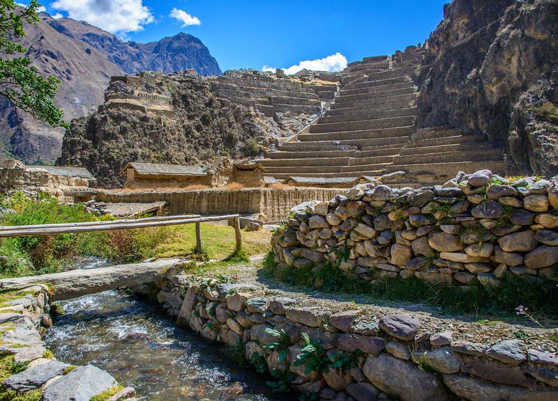 Inca Ruins, Ollantaytambo