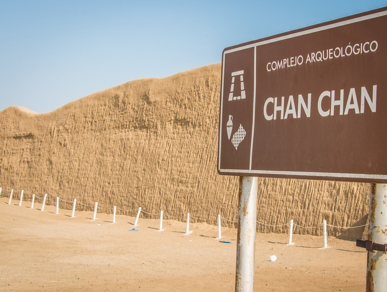 Chan Chan - Capital of the Chimu Kingdom - Circa ~ 1000 ACE