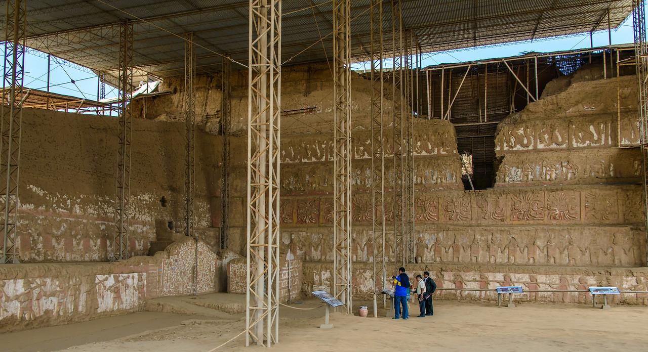 Main Mural Restoration - Huaca de la Luna