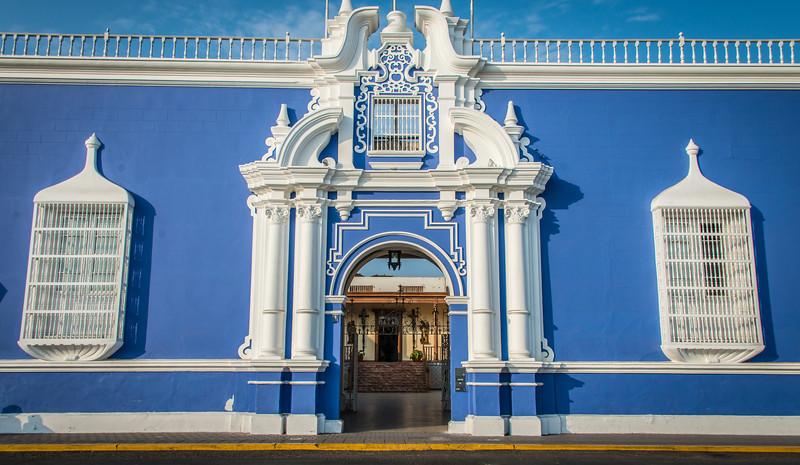 Bishops Home, Plaza de Armas - Trujillo