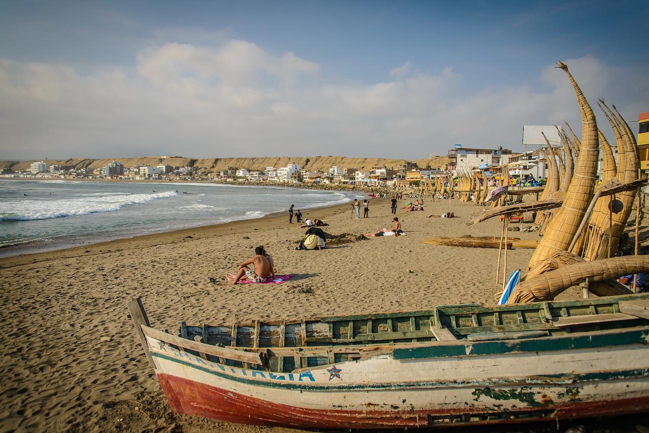 Playa el Varadero - Huanchaco