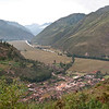 """Sacred Valley - En Route to Pisac<br /> Valley view on a misty Sunday morning.  The town below is """"Taray."""""""
