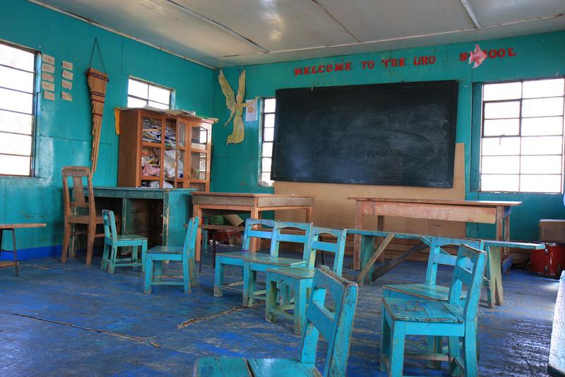 School in Uros Island
