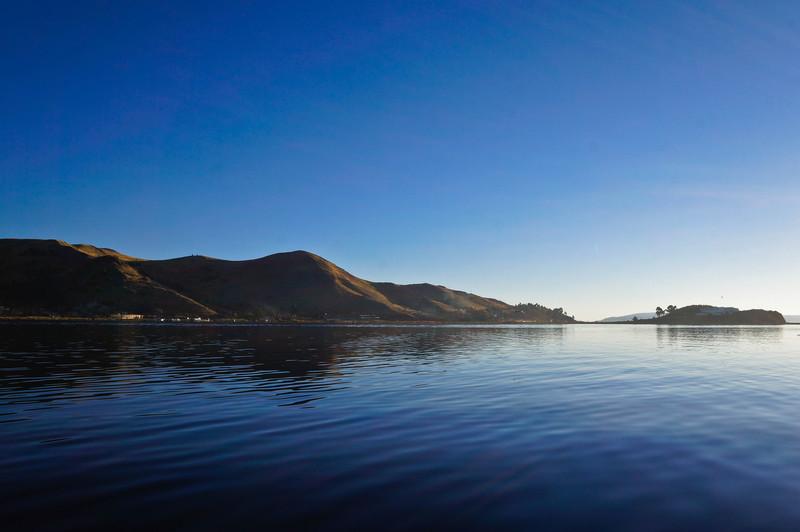 View of Lake Titicaca, Peru