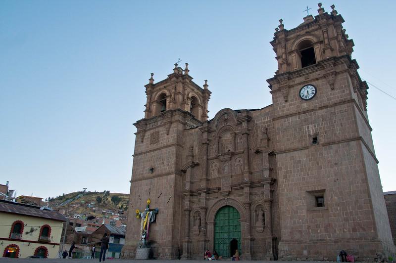 Cathedral in Puno, Peru