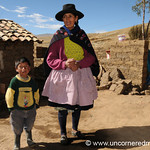 Mother and Son - Ucchus, Peru